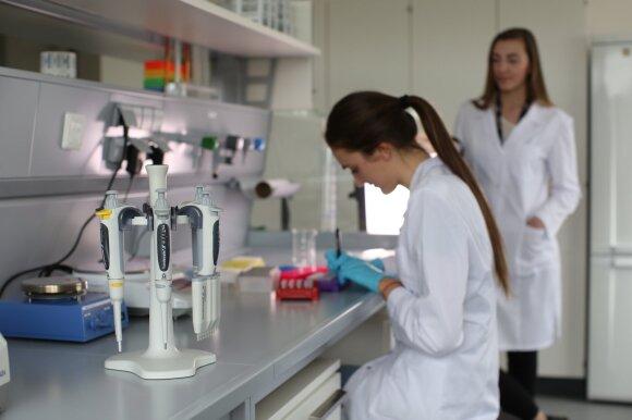 KU Jūros tyrimų instituto laboratorijos