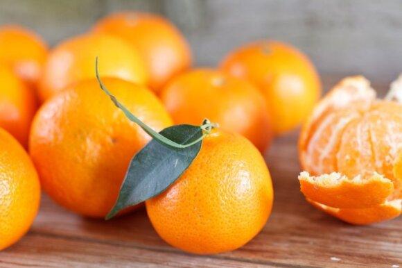 Prekybos centrai pradėjo prekybą mandarinais: kaip pasikeitė kainos