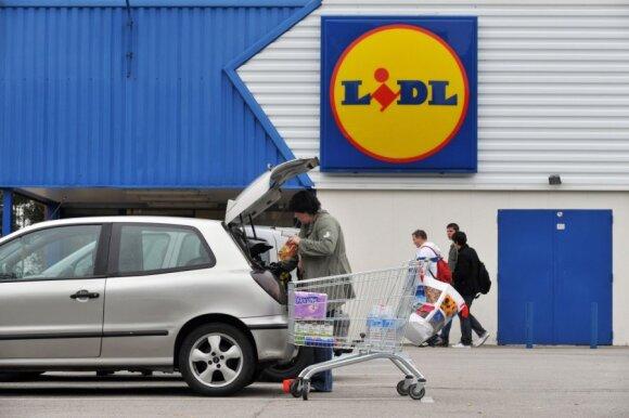"""""""Lidl"""" parduotuvėse – greito atidarymo nuojauta"""