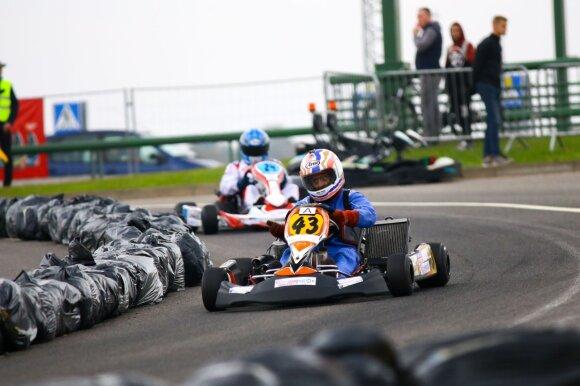 """""""Rimo Grand Race"""" sportinių kartingų varžybos"""
