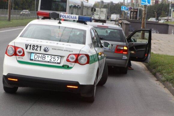 Policija, reidas