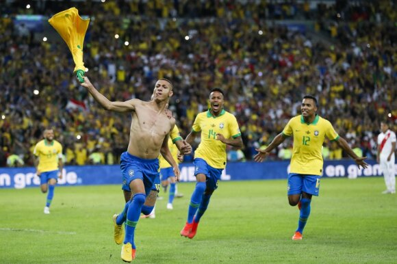 Brazilijos ir Peru rungtynės