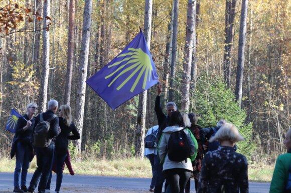 Žymusis piligrimų kelias pasiekė ir Lietuvą: ypač traukia jaunimą