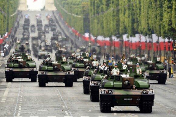Prancūzijos kariuomenės paradas