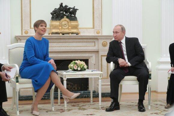 Kersti Kaljulaid, Vladimiras Putinas
