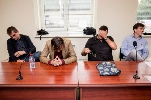 Emilis Vėlyvis, Ainis Storpirštis, Vitalijus Cololo, Mindaugas Papinigis
