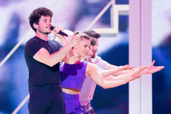 Eurovizijos finalas. Ispanija: Miki – La Venda