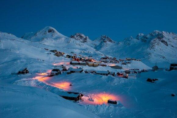 Grenlandija – ledo šalies grožis