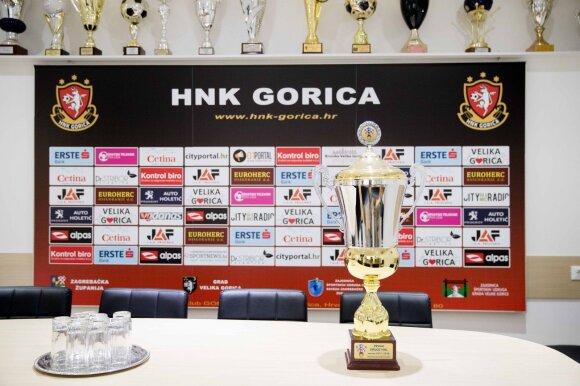 """""""Gorica"""" iškovota antros Kroatijos lygos nugalėtojų taurė"""