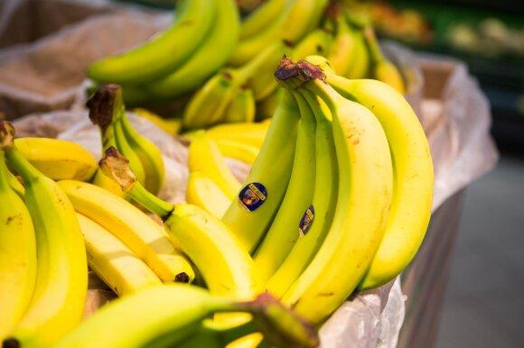 Bananų kelias į Lietuvos parduotuvių lentynas: ramina dėl mirtinai pavojingų vorų