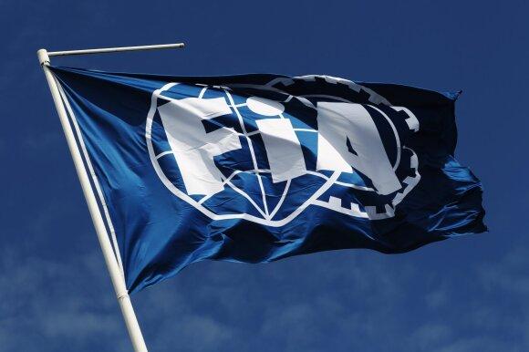 Tarptautinės automobilių federacijos (FIA) vėliava