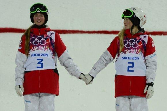 Kanadietės sesės Chloe ir Justine Dufour-Lapointe