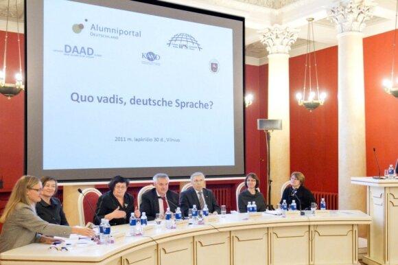 Vokiečių kalbos ekspertai: dabartinė švietimo politika žlugdo antras užsienio kalbas
