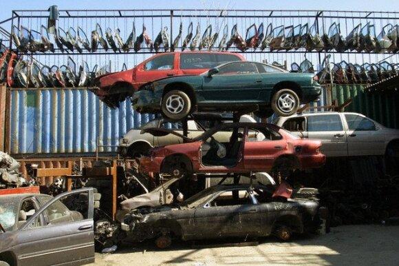 Susirūpinkite, jei po automobiliu liko bent lašas tepalų – bauda gali gerai patuštinti kišenę