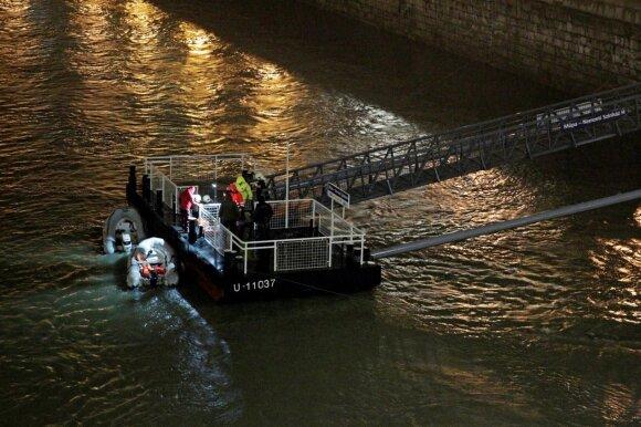Budapešte nuskendus laivui žuvo septyni turistai, dar 19 dingo