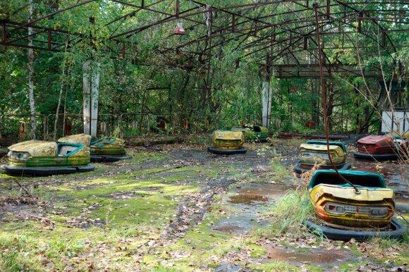Apleistas Černobylio atrakcionų parkas