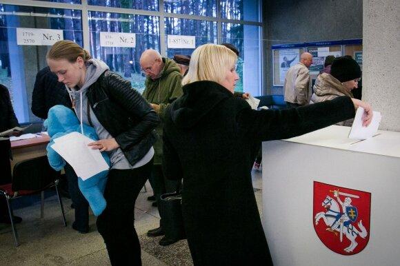В Литве выбирали парламент