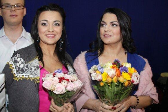 Monika Sakalauskaitė ir Giulija Baužienė