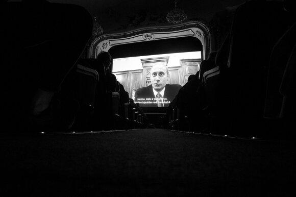 """Показ фильма """"Свидетели Путина"""" в Риге"""