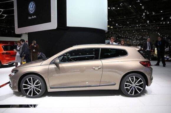 """Volkswagen Scirocco"" gamyba nutrūko šiemet"