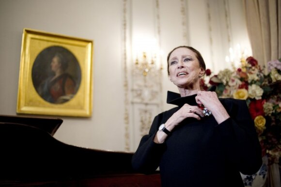 Плисецкую вспоминают в Литве: Кармен, королева, палящее солнце