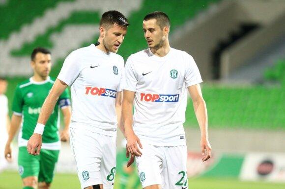 """""""Ludogorec"""" – """"Žalgiris"""" (S. Čirbos nuotr.)"""