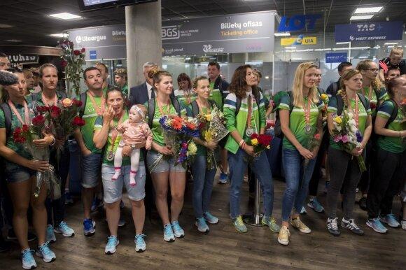 Kurčiųjų žaidynėse dalyvavusi Lietuvos rinktinė
