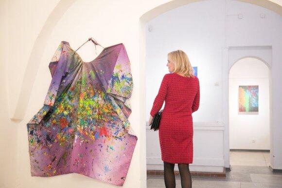 Rasos Staniūnienės tapybos parodos atidarymas