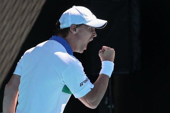 """Australian Open"": Ričardas Berankis – Sumitas Nagalis"
