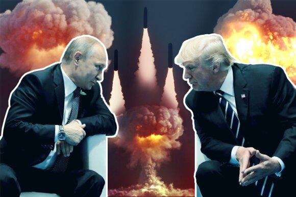 Branduolinis incidentas Rusijoje – tik pradžia: kodėl Trumpas ir Putinas ėmė matuotis raketomis