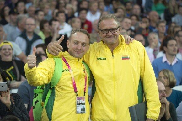 Saulius Paliūnis ir Vaclovas Kidykas / Foto: Alfredas Pliadis