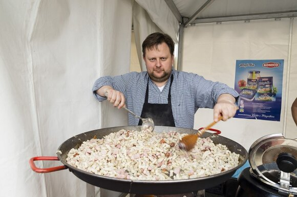 Typical Czech traditional food in Vilnius  Photo © Ludo Segers @ The Lithuania Tribune