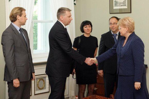 Andrius Nevera, Darius Valys, Dalia Grybauskaitė