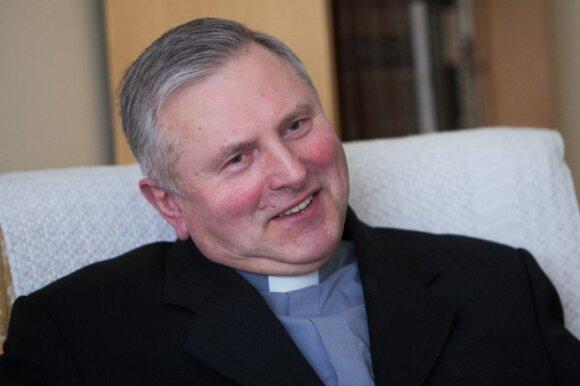Šiaulių šv. Ignaco Lojolos bažnyčios rektorius Algis Baniulis