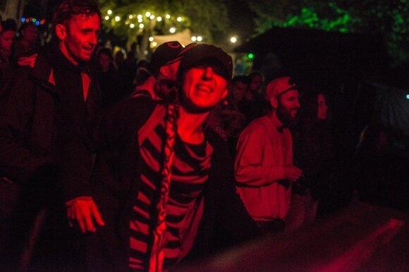 """Festivalio """"Postcosmos"""" akimirka FOTO: Dovaldė Gaidelionytė"""