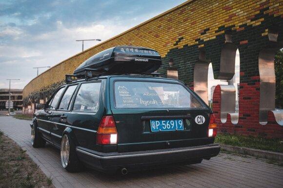 Benzingalviai iš Kinijos nusprendė nuvažiuoti į Austriją: užsuko ir į Lietuvą. Žilvino Kuprėno, Fotobros.lt nuotr.