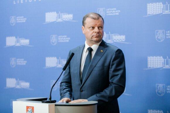 Premjeras liberalams Seime: <em>soriukas</em>, tikiuosi, ištversite
