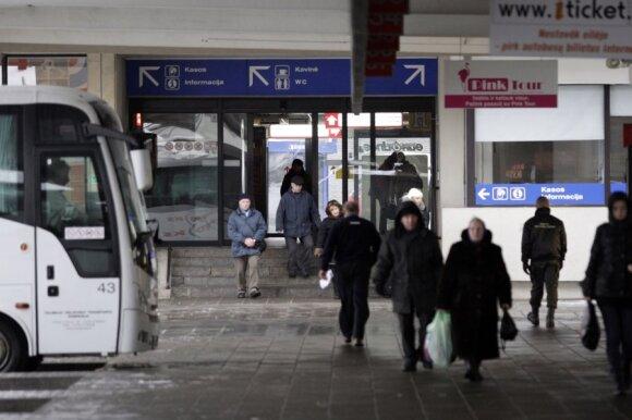 Kelionė tarpmiestiniu autobusu: tualetas skirtas ne visiems