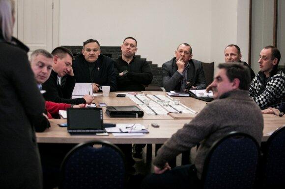 Kalėjimų departamento vadovų posėdis