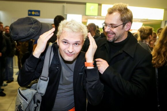 Igoris Kofas ir Aras Vėberis