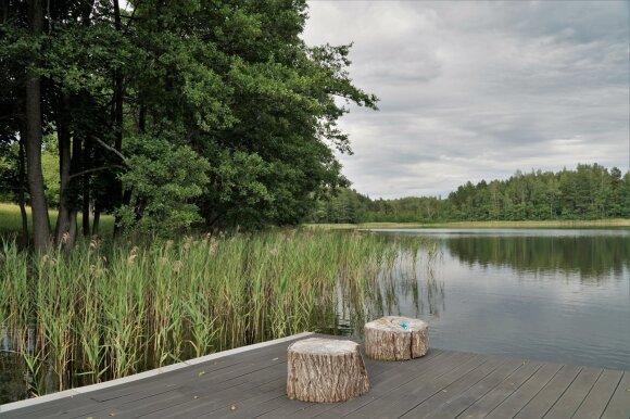 Kuojinio ežero lieptas (Zarasų raj.)