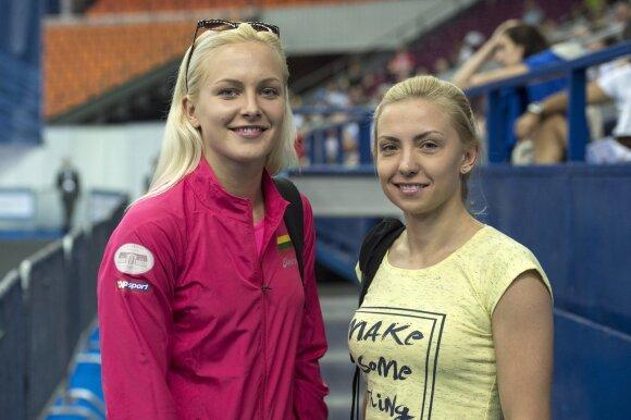 Ieva Serapinaitė ir Karolina Gužauskaitė