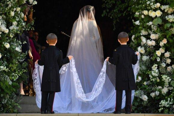Vaikai princo Harry ir Meghan Markle vestuvėse