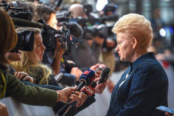 """Dalia Grybauskaitė, kadras iš filmo """"Valstybės paslaptis"""""""