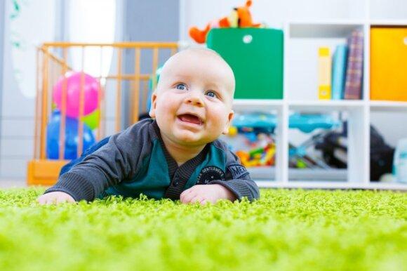 Neramų vaiko miegą gali nulemti netinkamai įrengtas kambarys