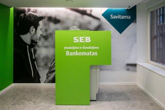 Pasiruoškite: nuo šiandien nebeveiks dalis SEB banko paslaugų