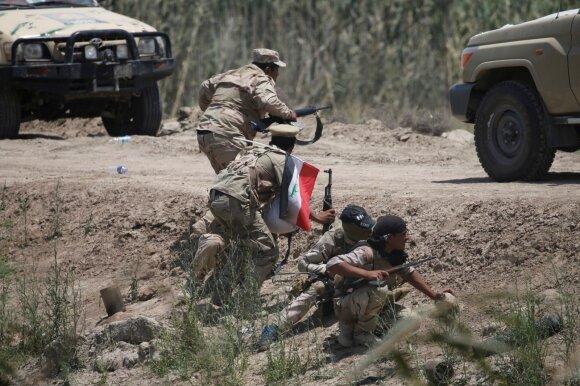 Irako pajėgos atsikovojo Karmos miestą iš Islamo valstybės