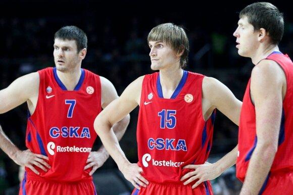 Dariusz Lavrynovitz, Andreez Kirilenka and Victor Kripa