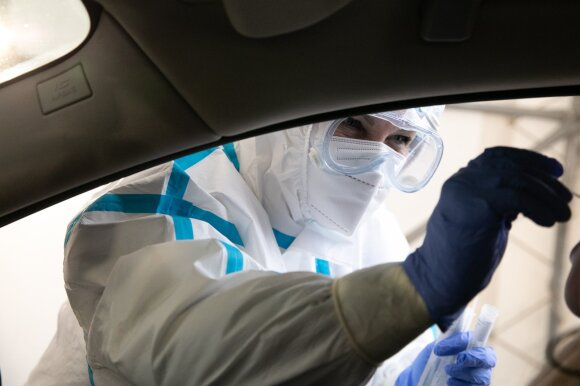 Po vizito valstybinėje įstaigoje – teigiamas koronaviruso testas: tikina, kad tvarka nustebino jau prie įėjimo