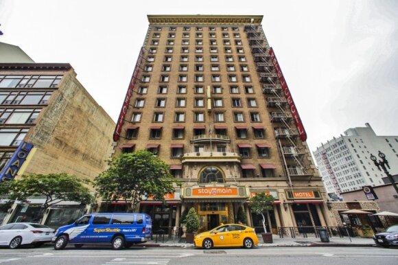 """Viešbutis """"Cecil"""" / Foto: Los Angeles Times"""
